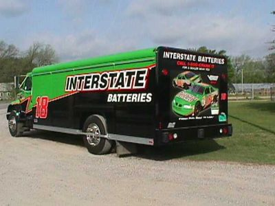 Interstate Batteries Truck Decal by Empire Truck Rebuilders